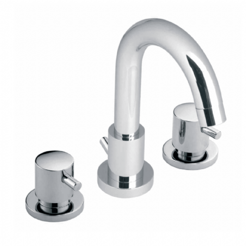 Vado Zoo Deck Mounted, 3 Tap Hole, Basin Mixer - Model ZOO-101-C/P